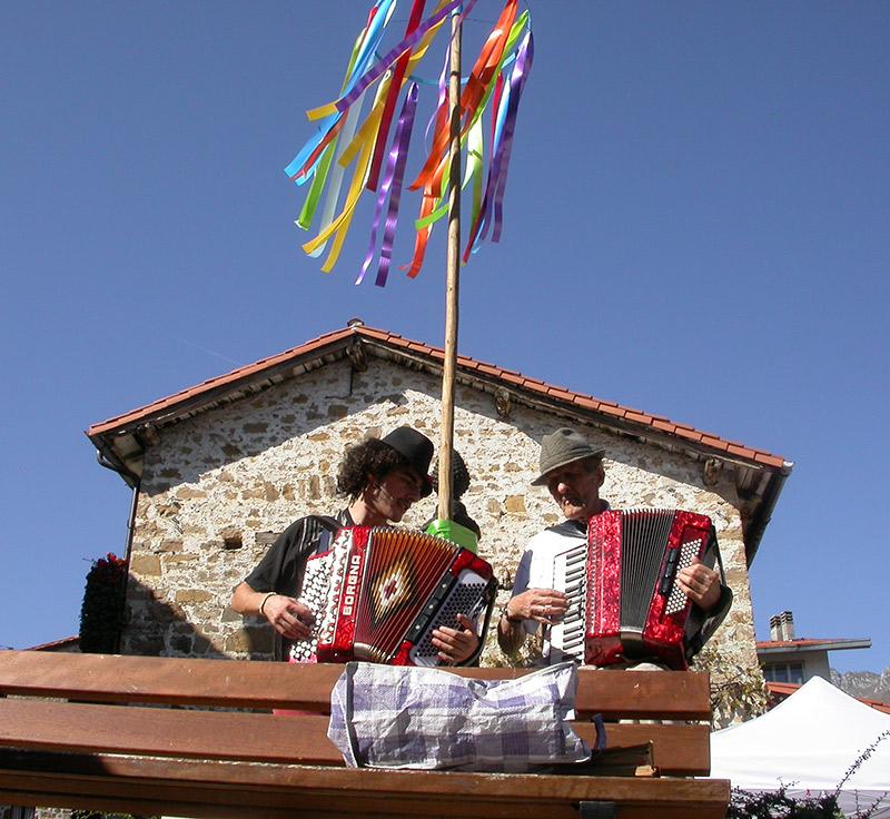Paolo Fisa ad ART TU FESTIVAL 2012 di Frisanco